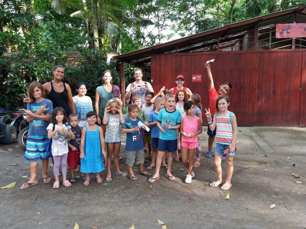 Kid's Club Visits the Jaguar Rescue Center