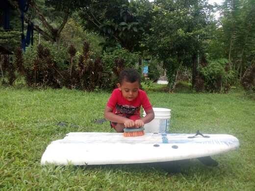 Surfboard refurbishing