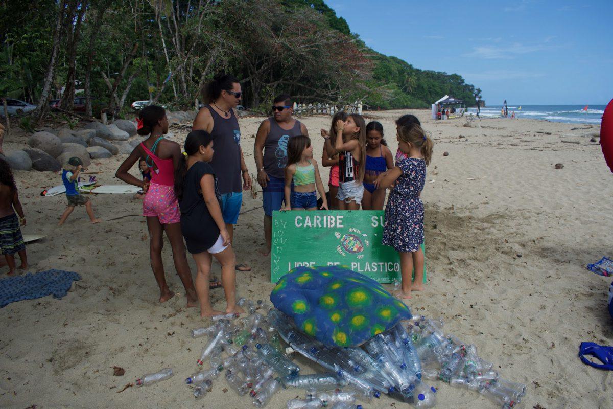 Caribe sur libre plástico